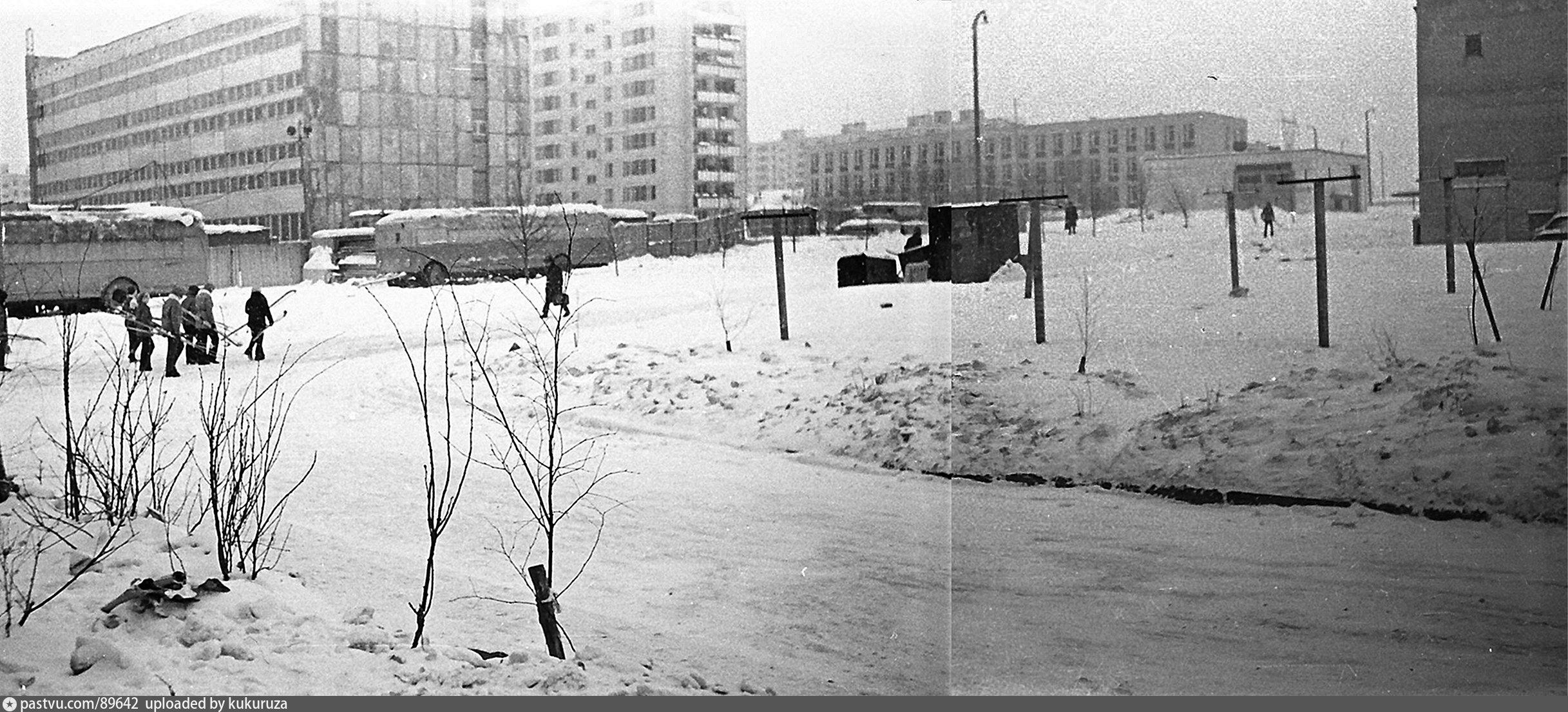 Район бирюлево западное старые фото