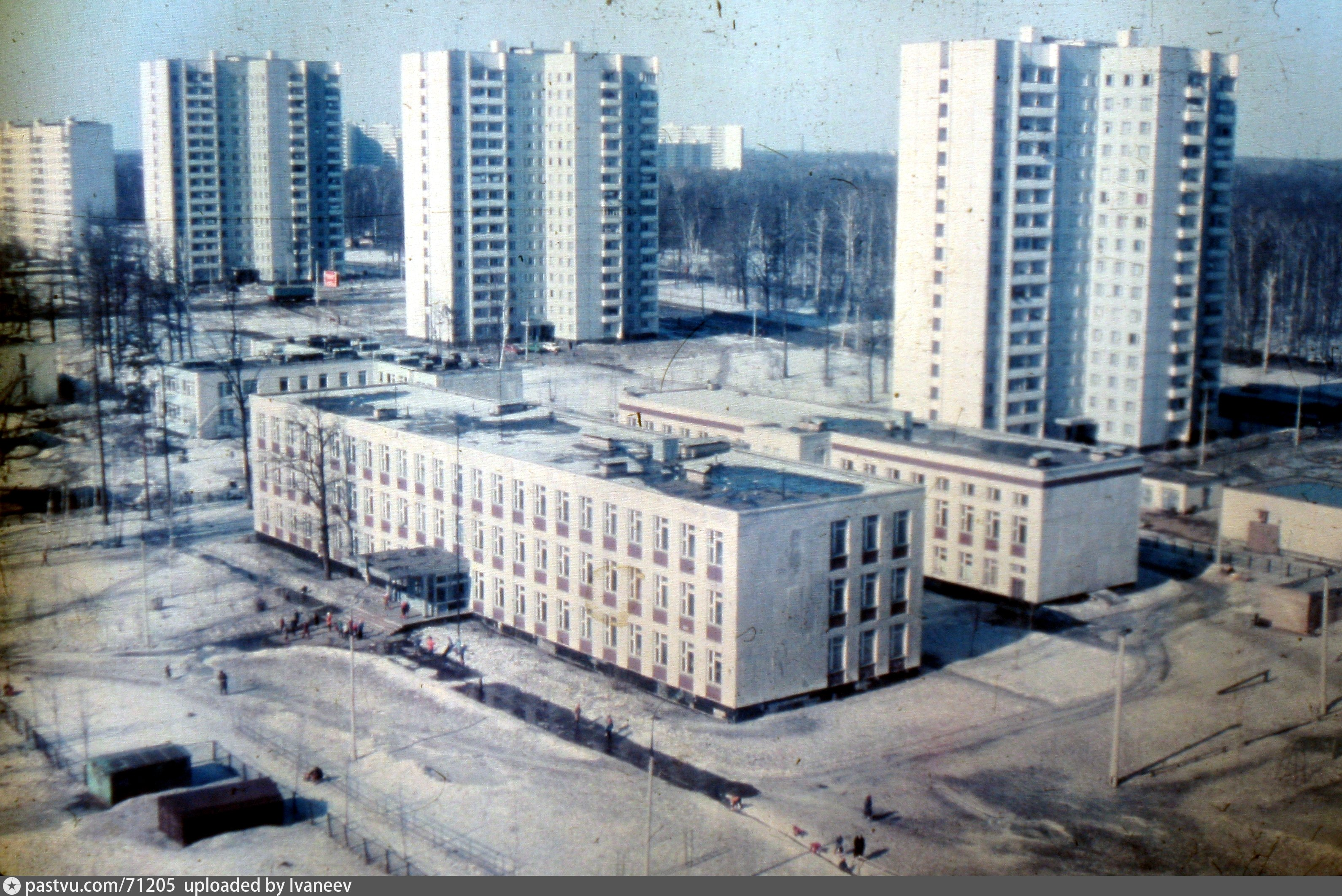 Старые фотографии москва лианозово