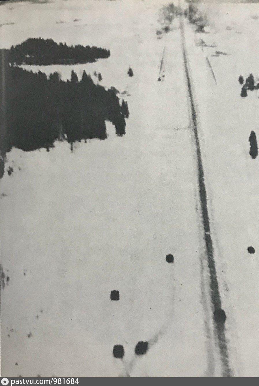Немецкие танки подходит по Рогачёвскому шоссе к деревне Горки Киовские