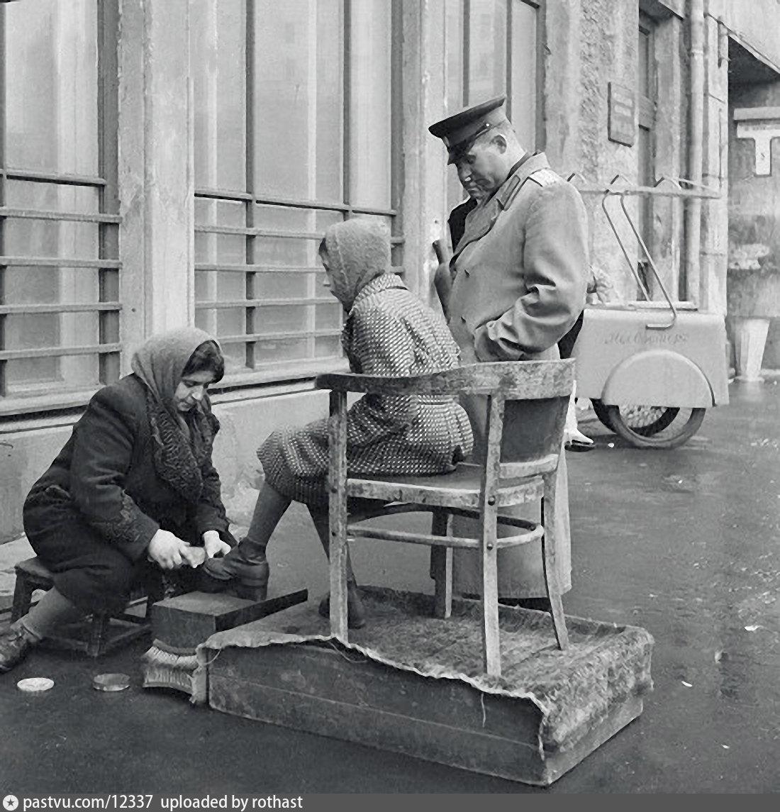 чистка обуви в ссср фото влияние церкви