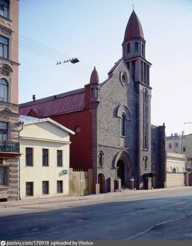 Костел на ковенском переулке сайт