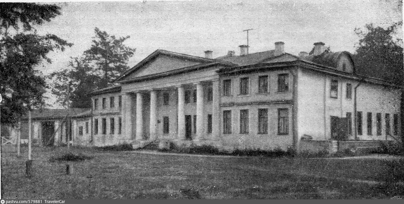 Подъячево (Обольяниново). Дом, где жил Л.Н. Толстой