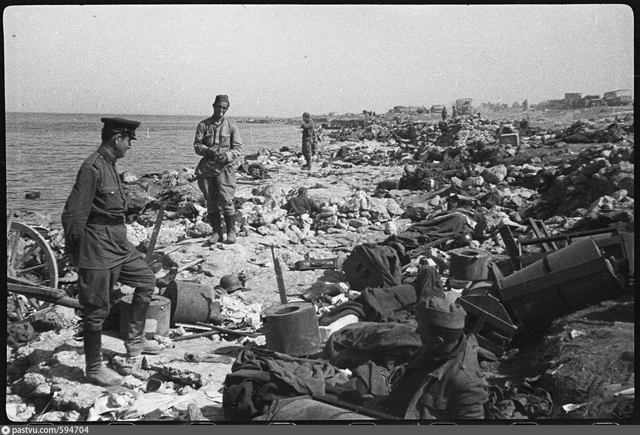 Неопубликованные ранее снимки крыма во время великой отечест.