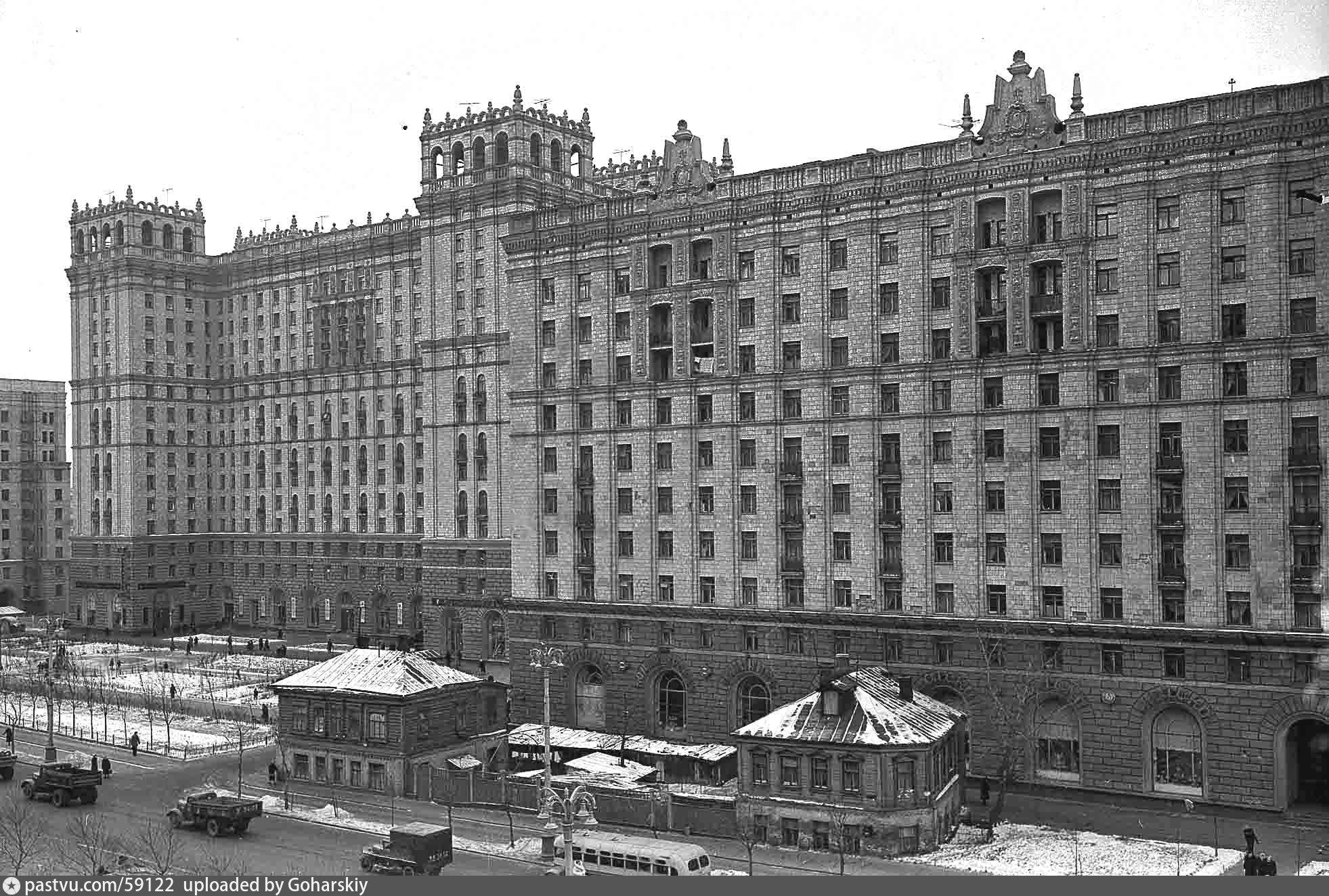 Самые первые фотографии проспекта мира москва