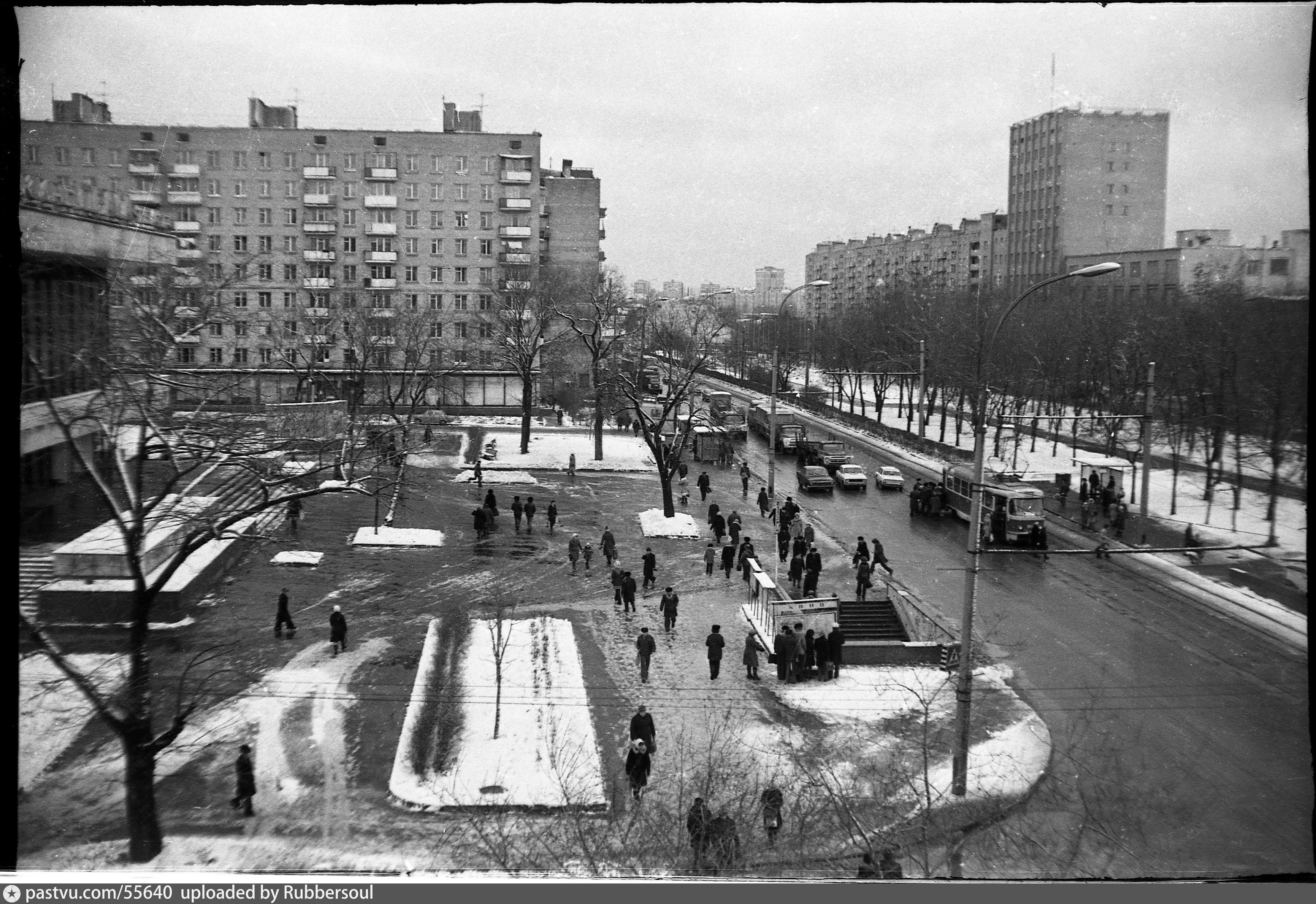 Фотографии старой москвы с привязкой к карте