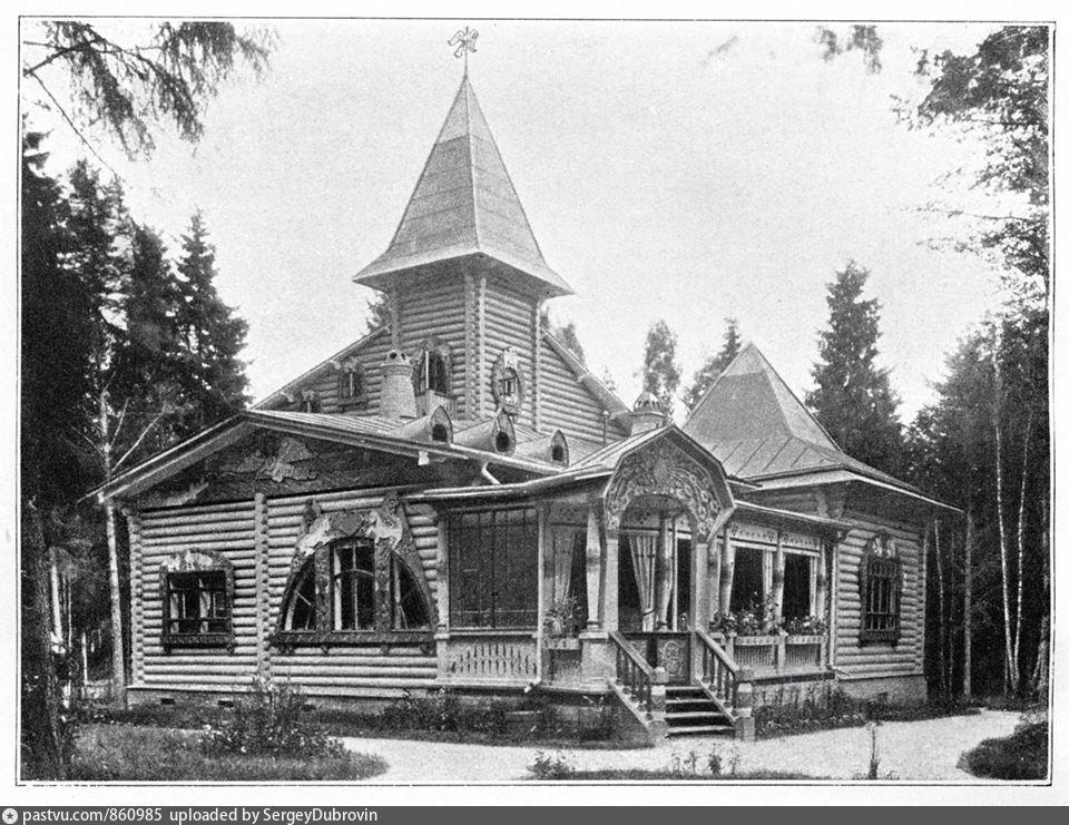 Дача купца 1-й гильдии Ивана Афанасьевича Александренко. Фотография 1909г.