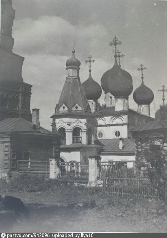 Чашниково. Троицкая церковь