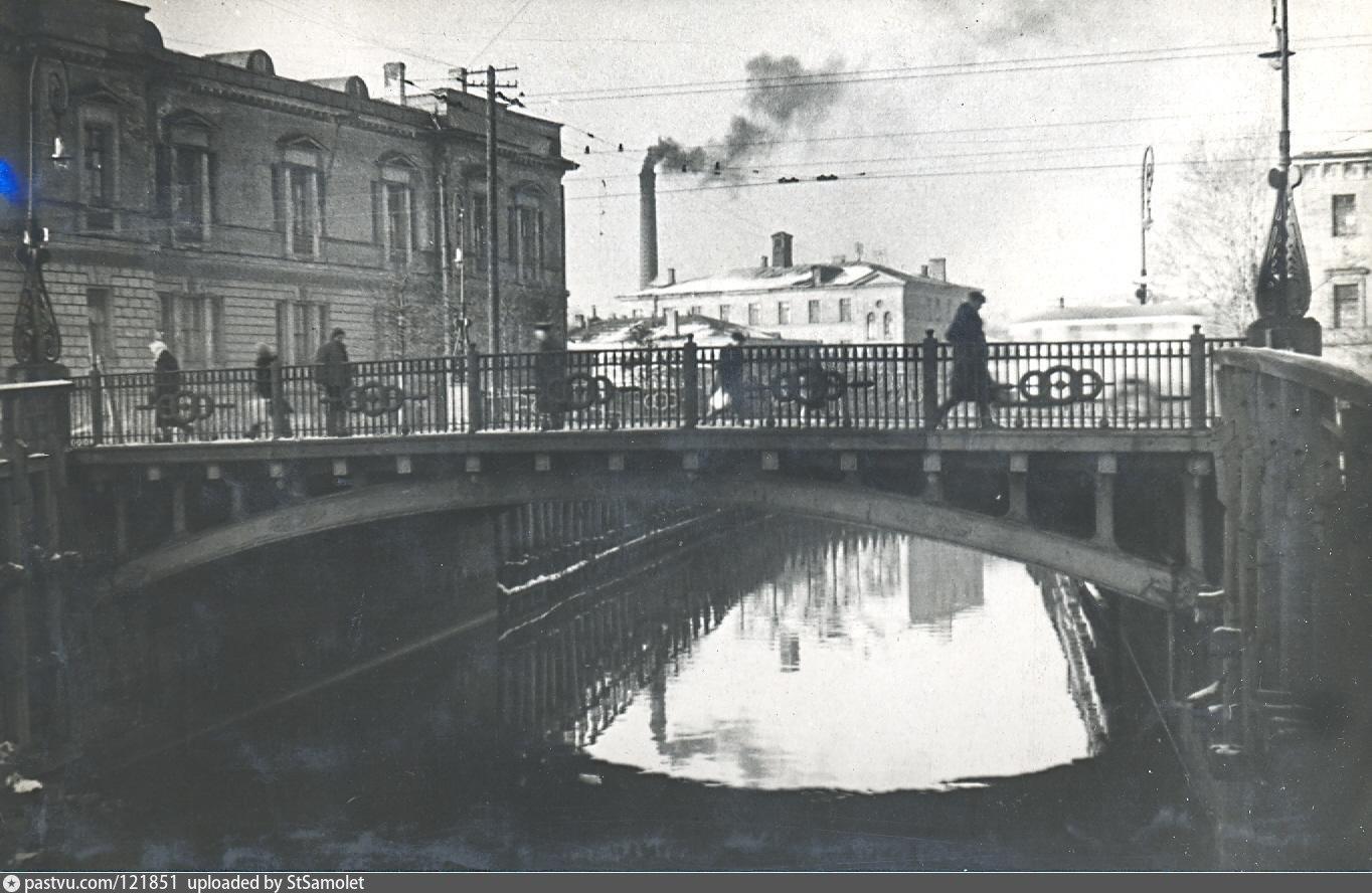 Историческое фото Введенского канала