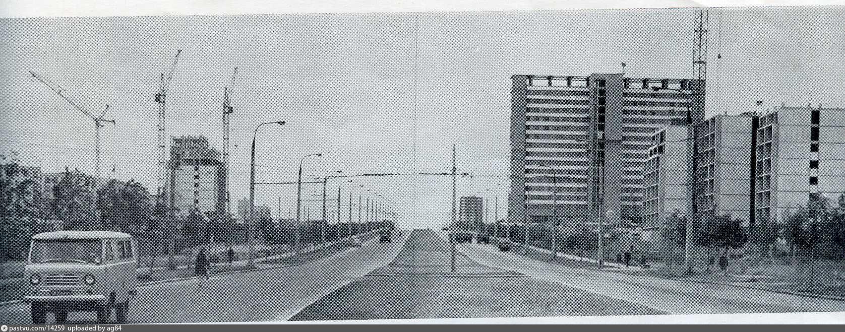 проспект вернадского старые фотографии работы воздушных шаров