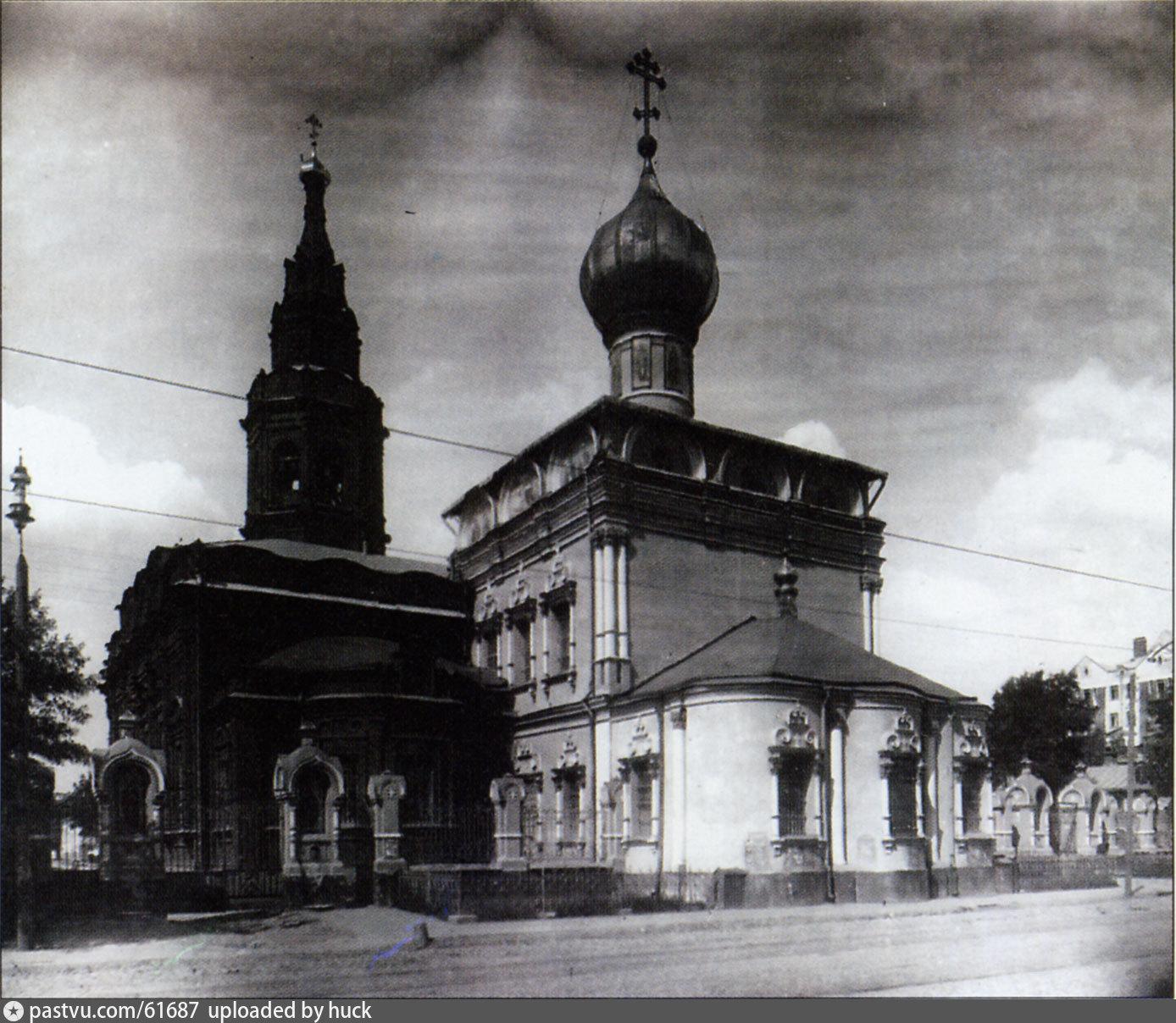 Никольский храм в 1910 году
