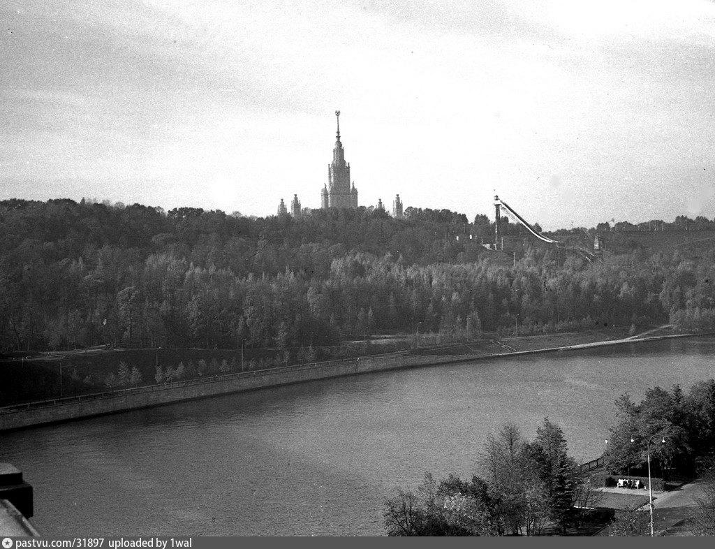 Ленинские горы фотографии разных времен