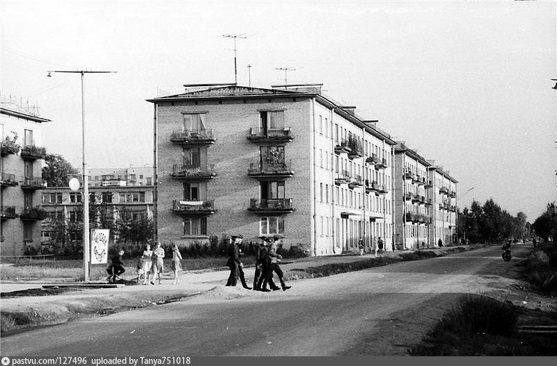 Старые фото улиц сосновой поляны