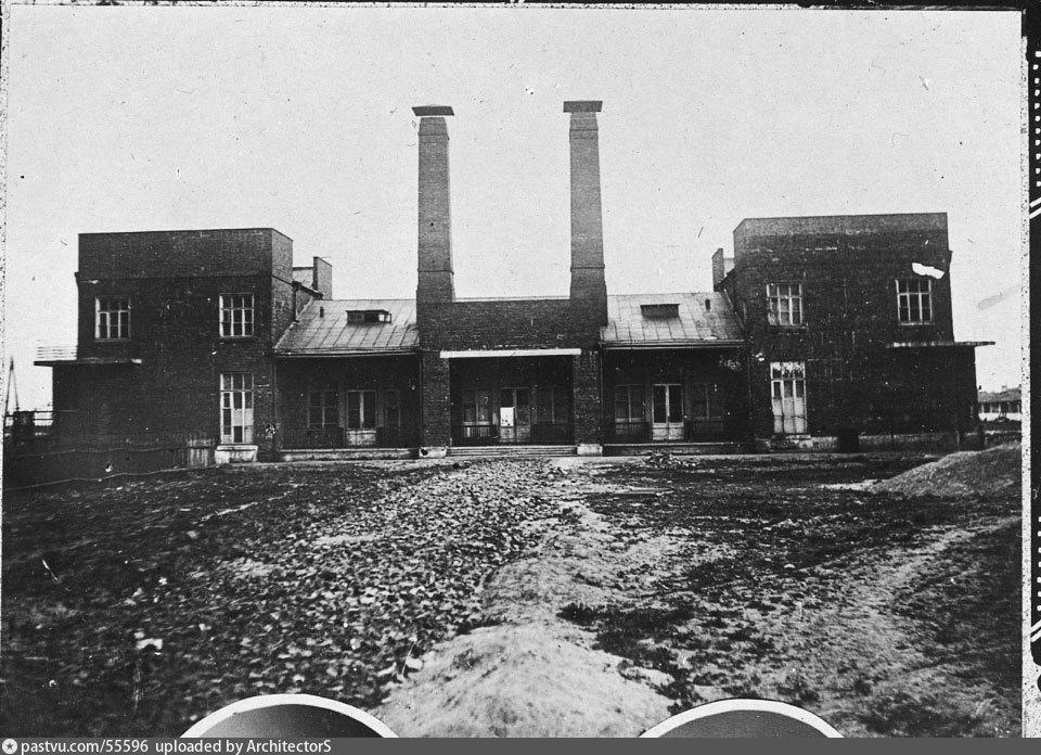 Фото 1937г. Котельный двор.
