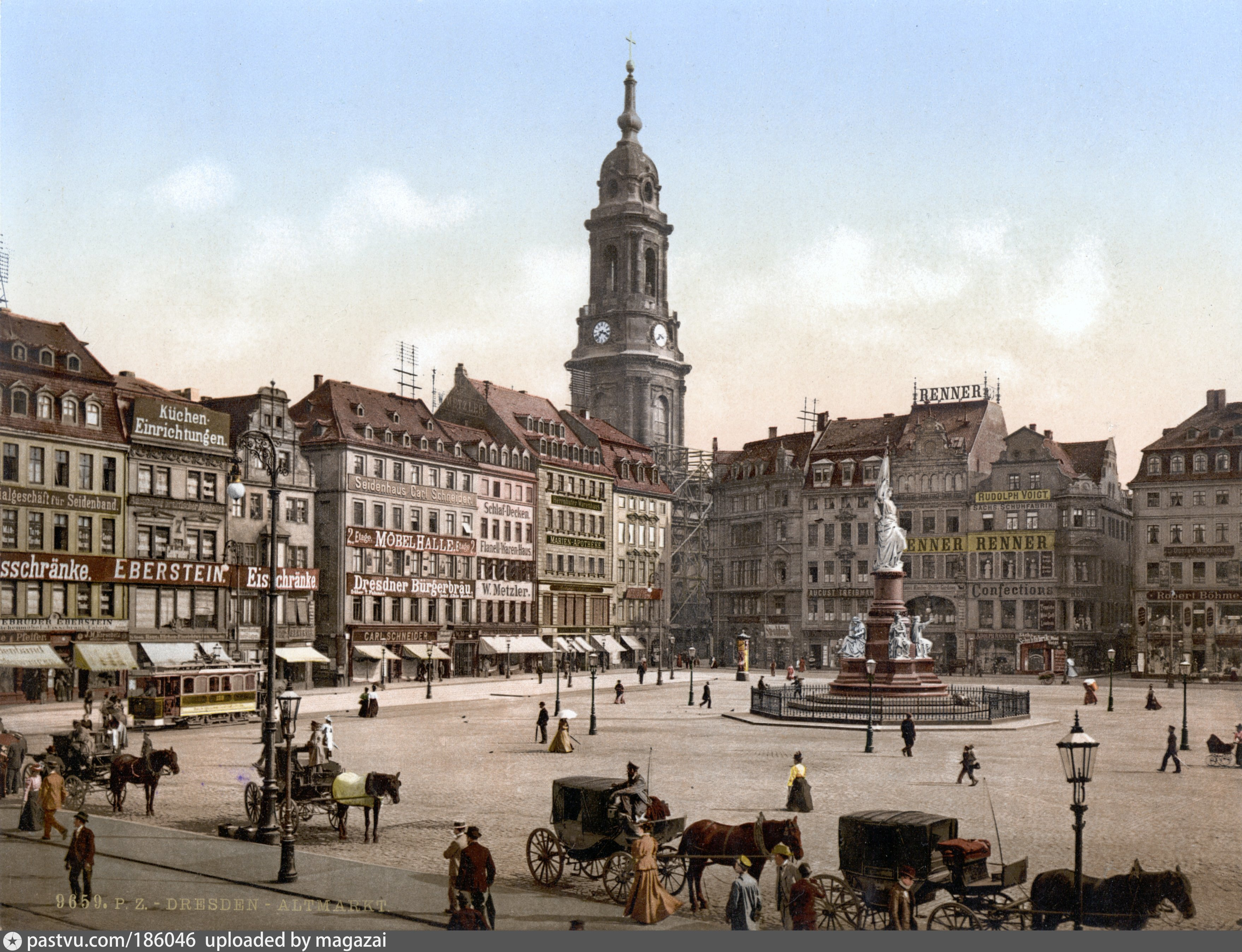 ТОП: Достопримечательности Дрездена. Карта, фото, описание ...