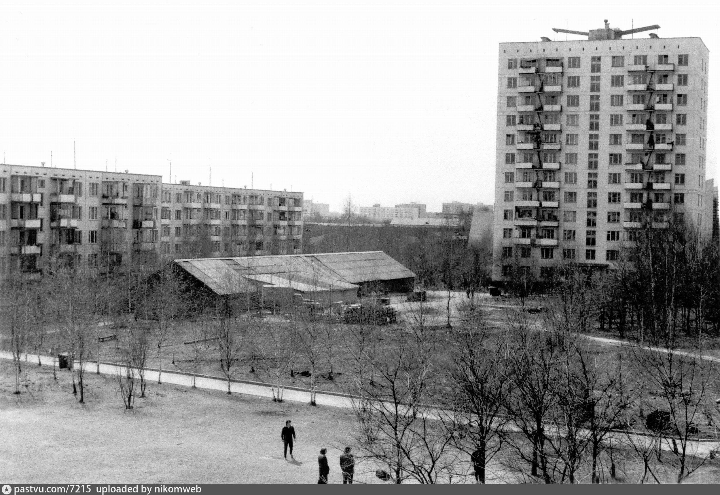 Старые фото онежской улицы в москве увеличить