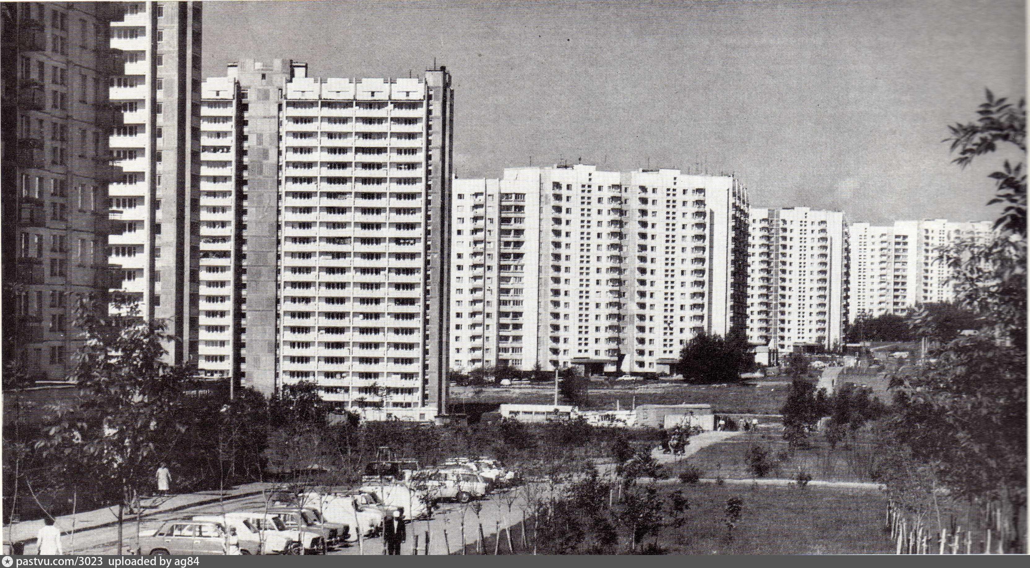Старые фотографии ясенево