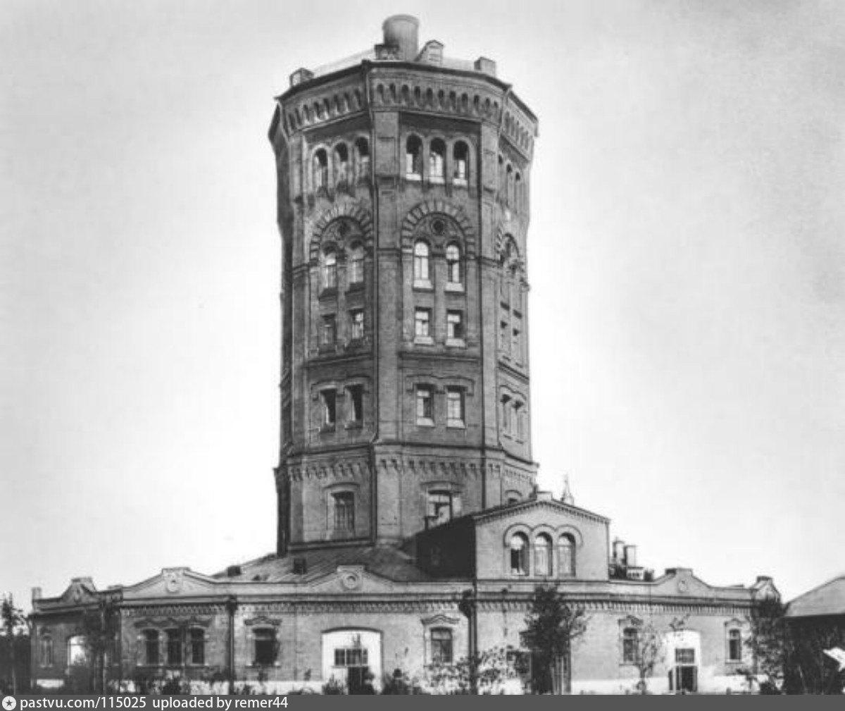 Водонапорная башня главной станции