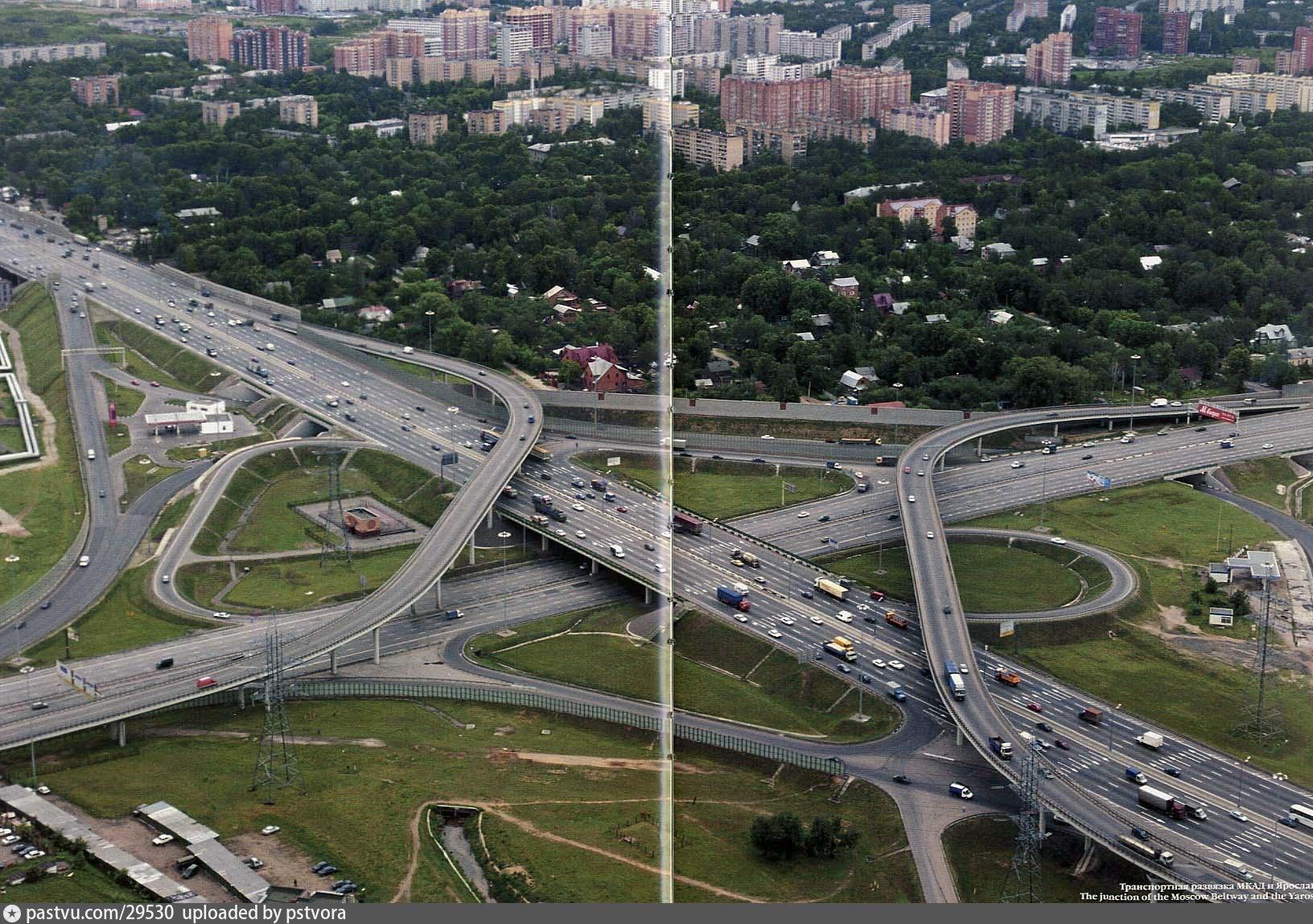 схема ярославского шоссе фото совой