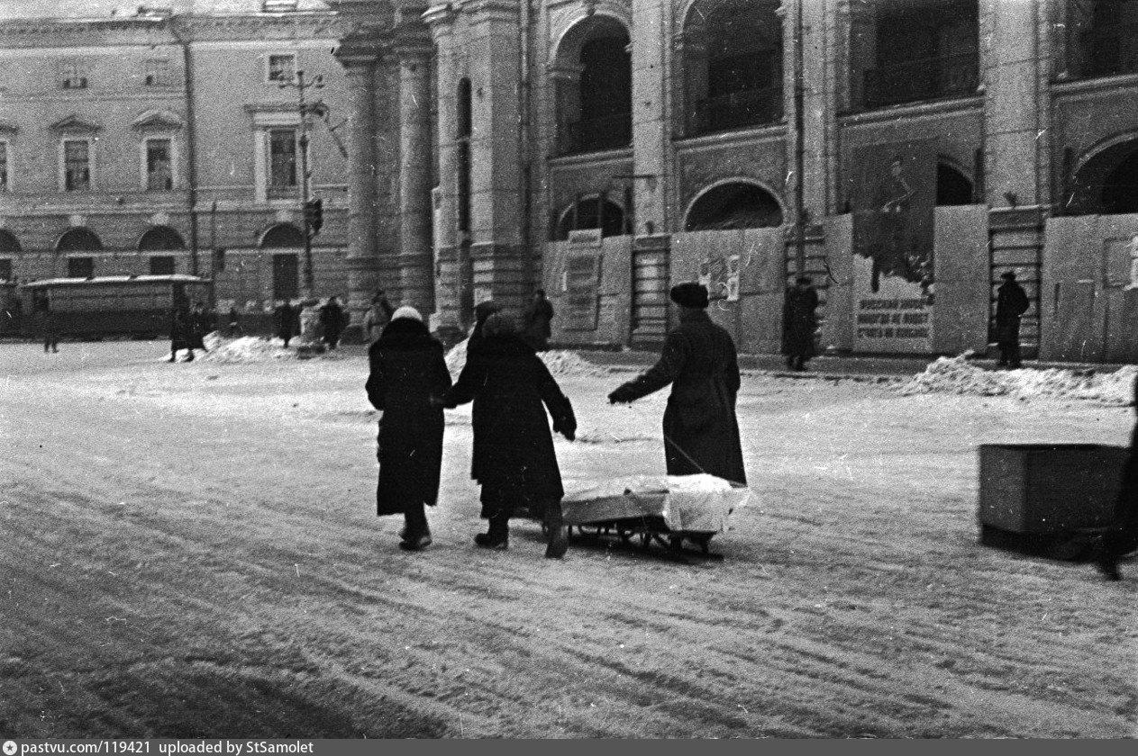 редкие фото блокадного ленинграда выяснили, что