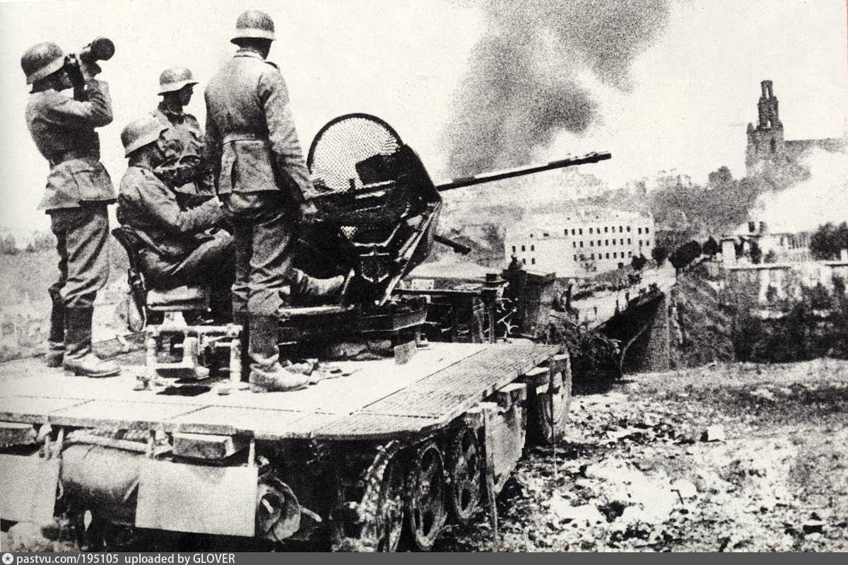 Фото нападения Германии на ссср в 1941