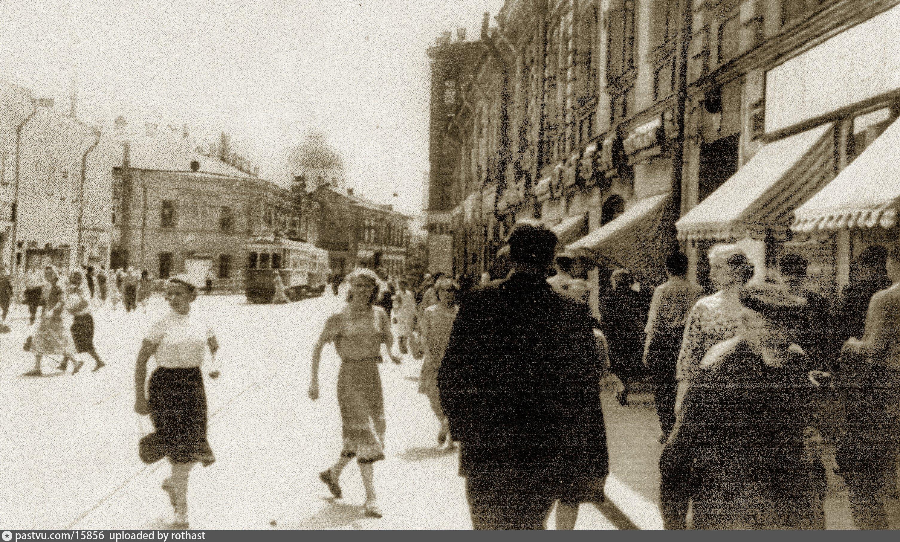 москва улица зацепа на старинных фото тоже часто