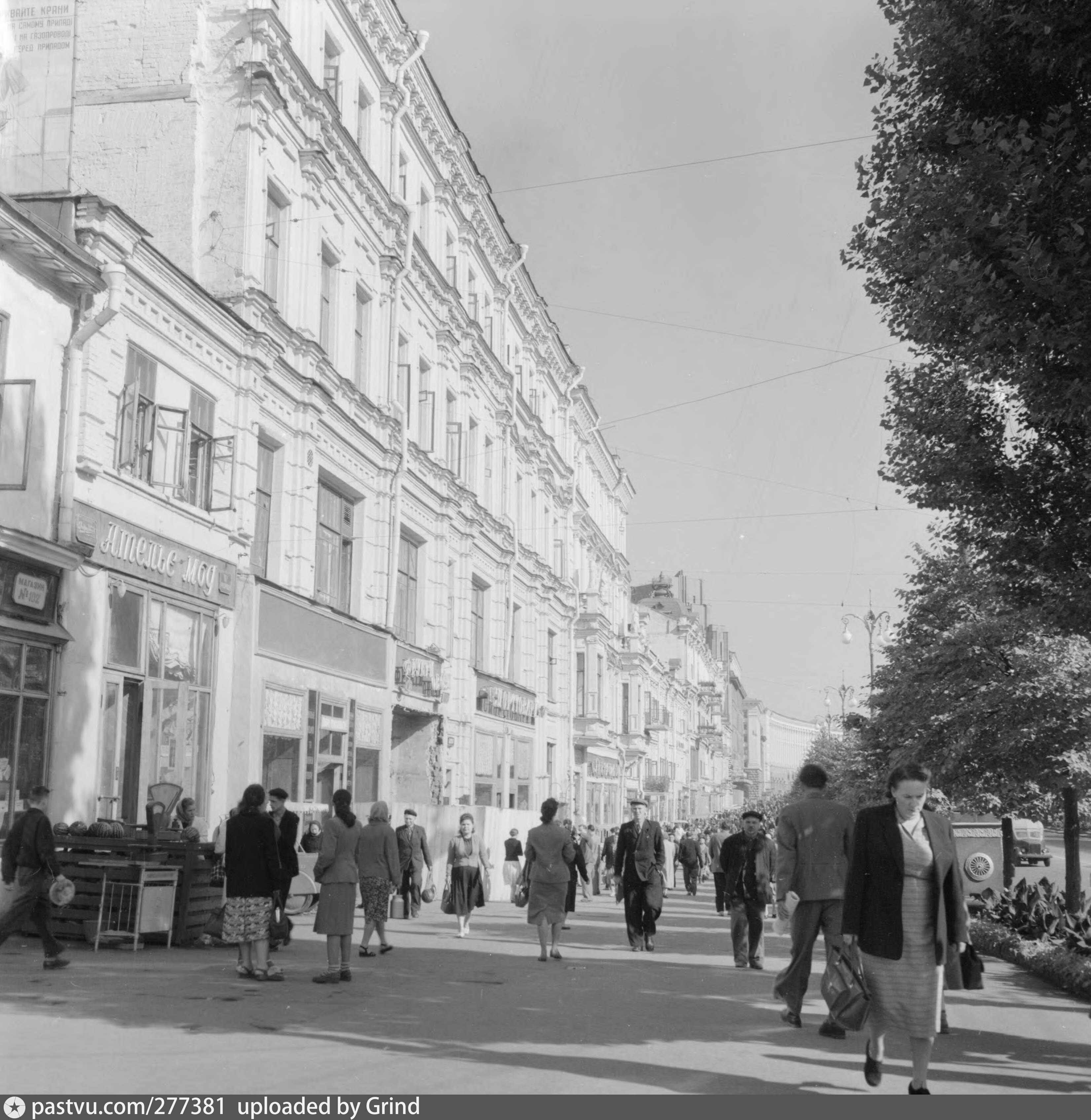 вул. Хрещатик, 42 1958 рік
