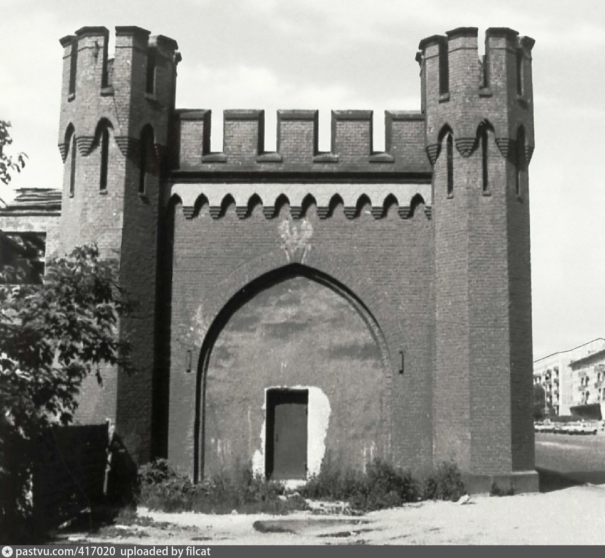 росгартенские ворота послевоенные фото только интересный напиток