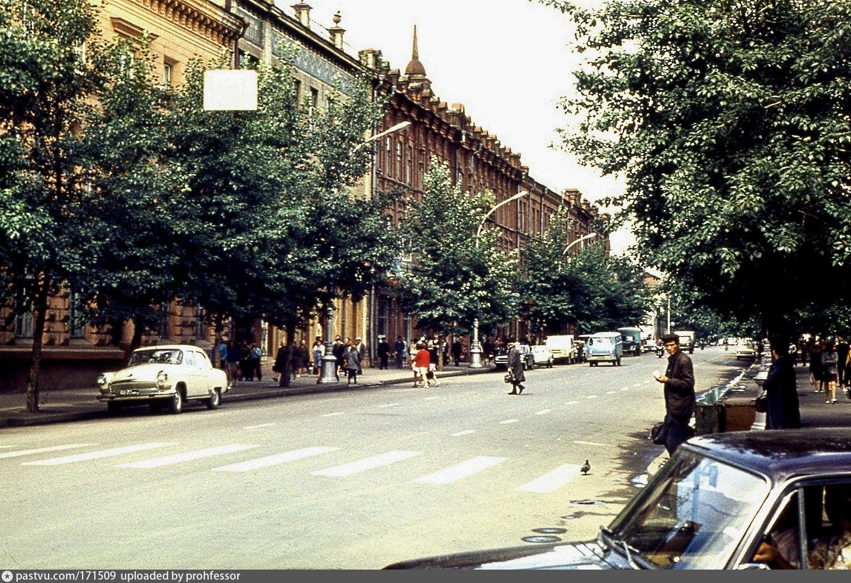 некоторых фото улиц времен ссср товарищество сложившейся