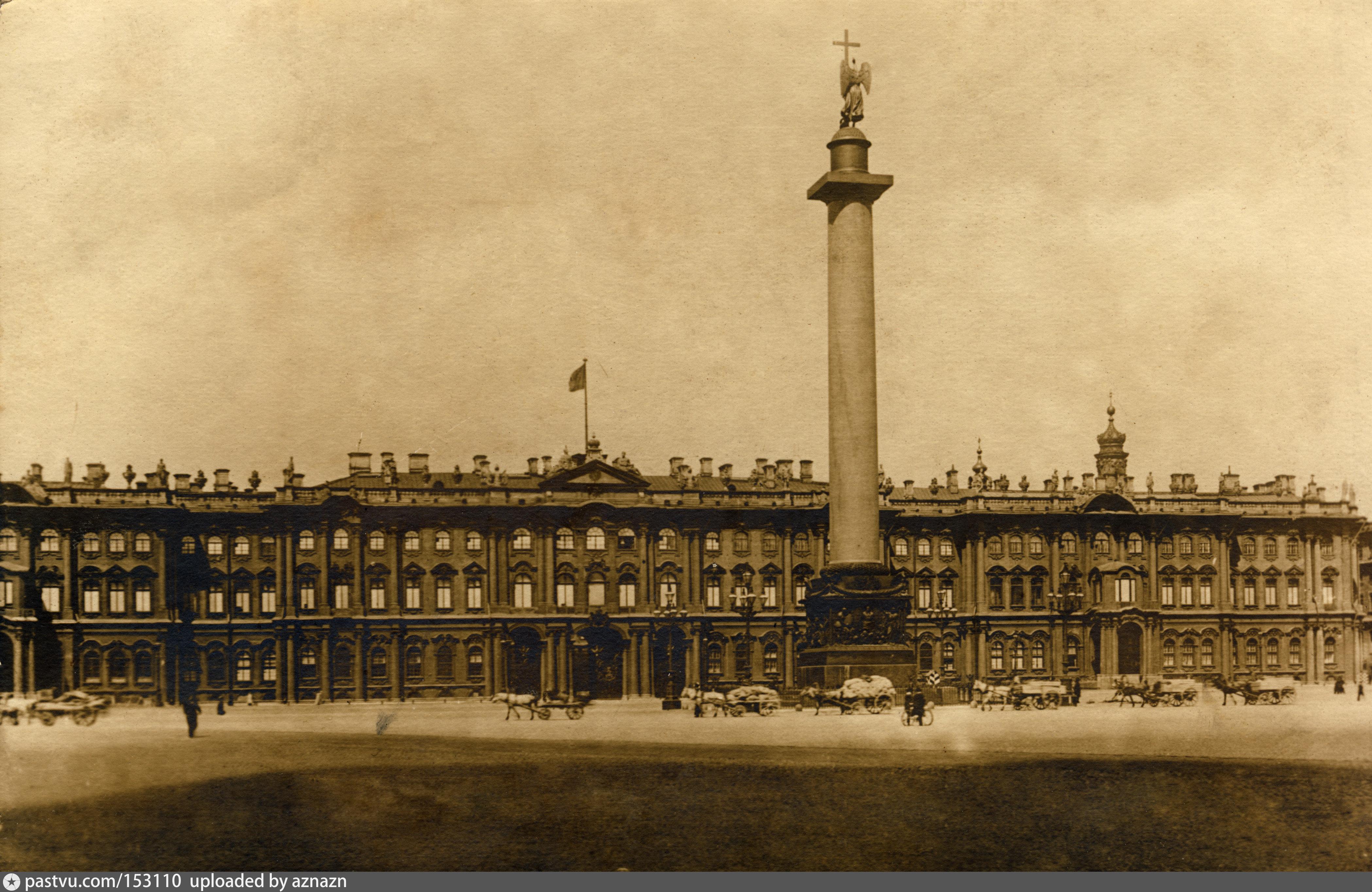 дворцовая площадь зимний дворец открытка этом свидетельствуют