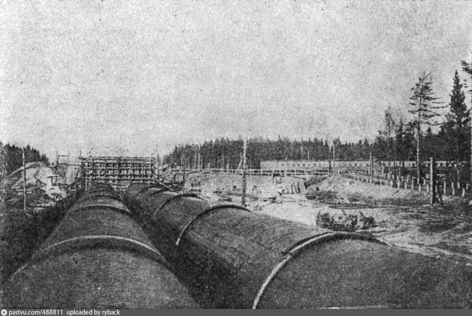 Границы санитарного пояса учинского водохранилища