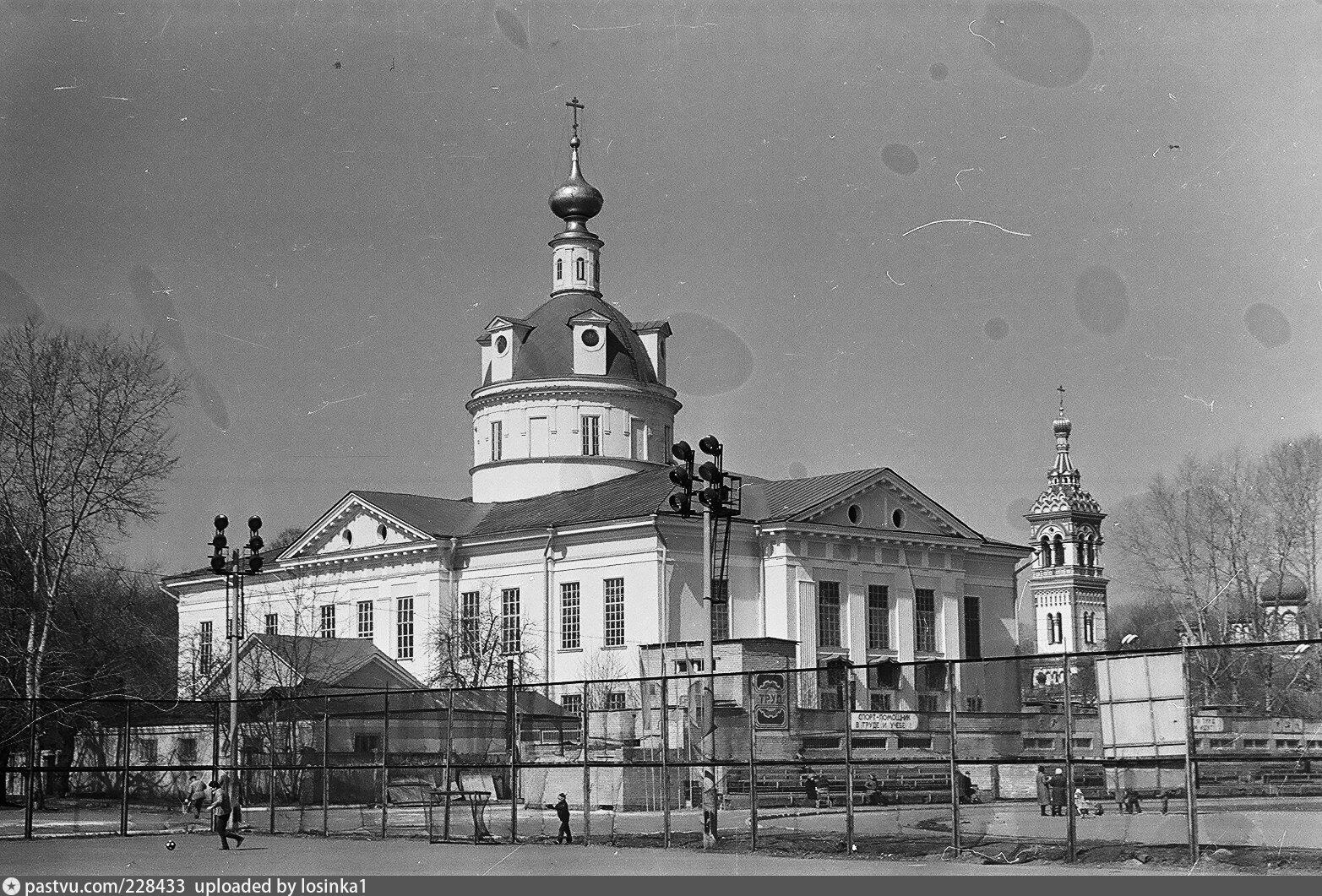 Старообрядческий Покровский кафедральный собор. Фото 1987 – 1988гг.