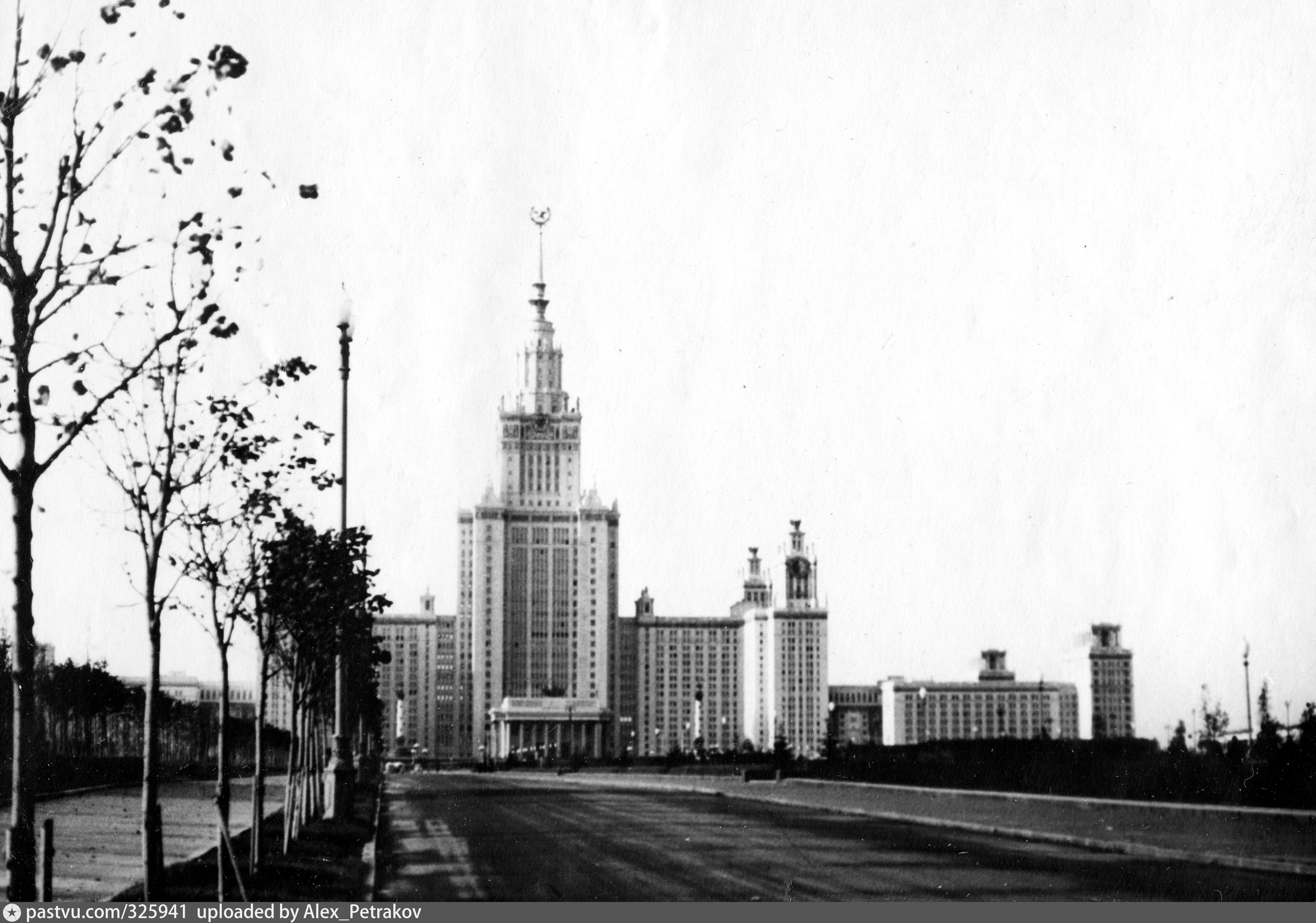 ленинские горы фотографии разных времен это направление создало