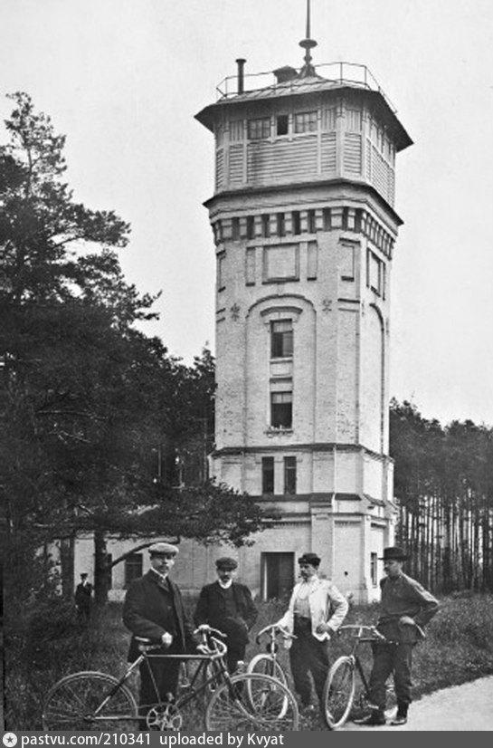 Водонапорная башня Лесного института в 1909-1917 гг.