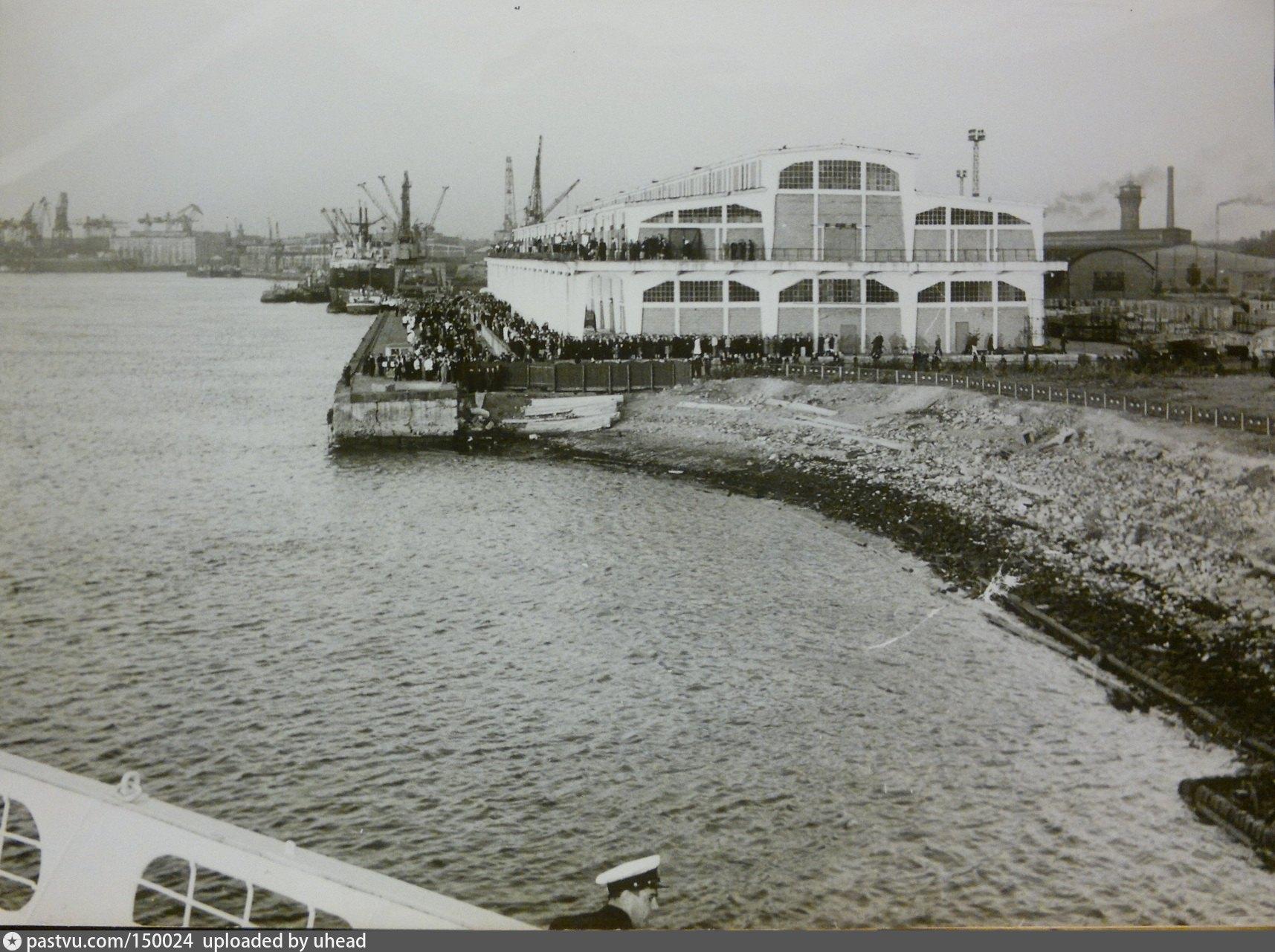 Морской порт. 1956г.