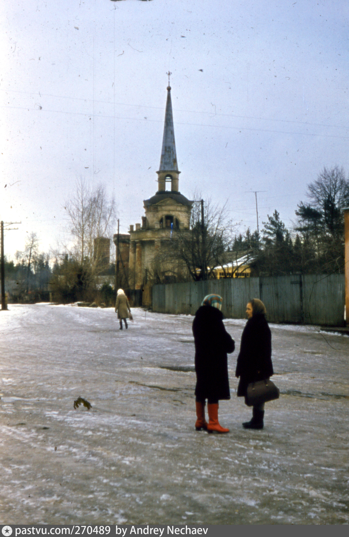 Старая станция звенигород фото