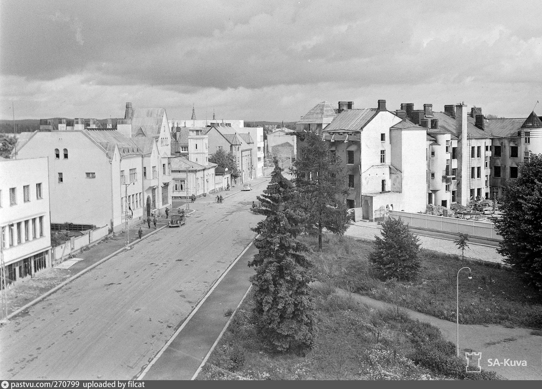 Старинные фотографии города сортавала