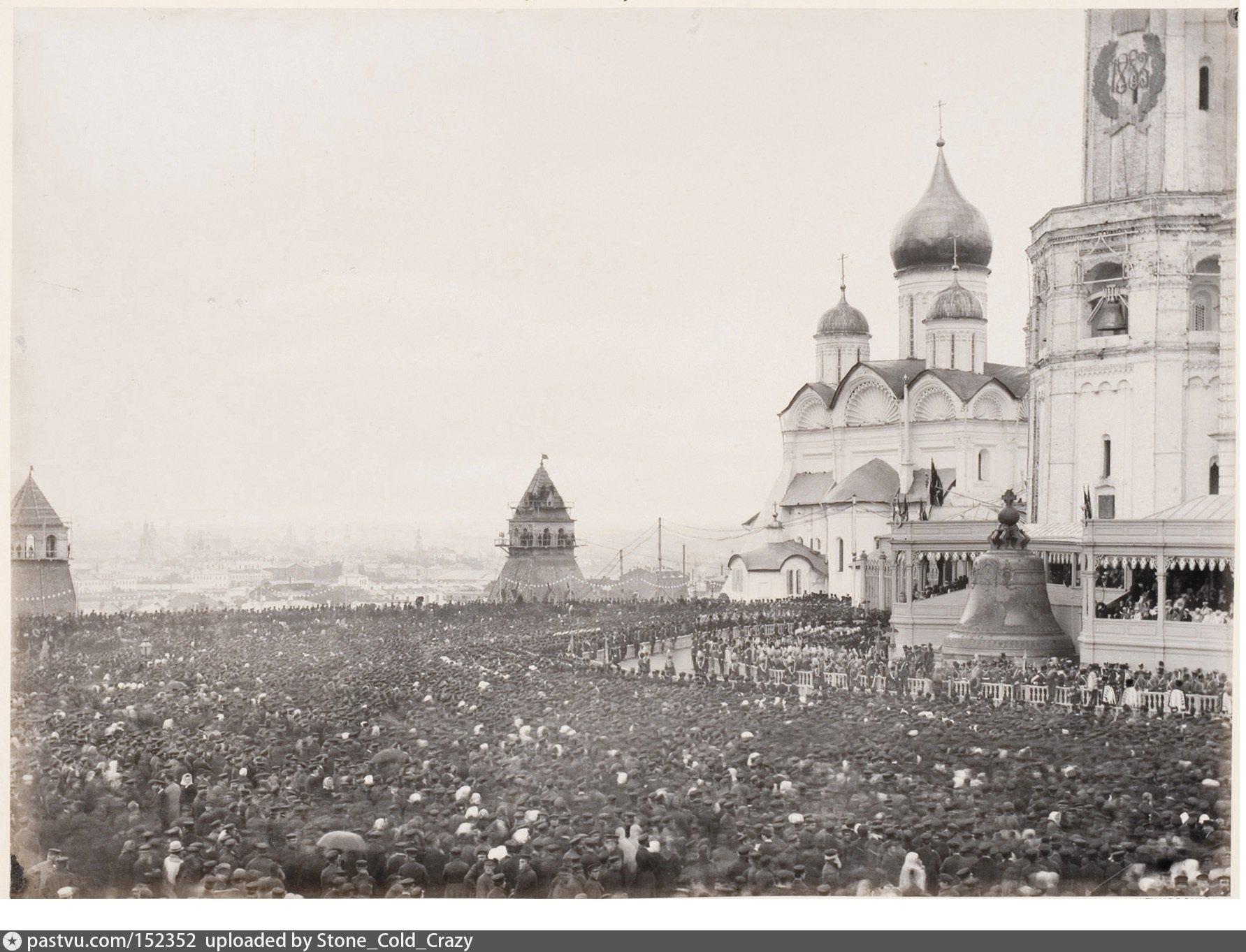 Коронация Александра III глазами очевидцев.