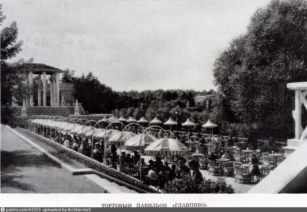 Павильон Главпиво. ВСХВ, 1954