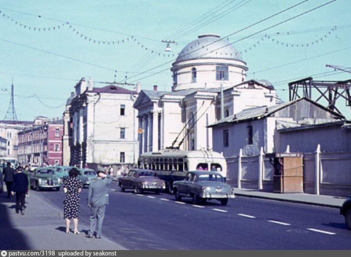 Церковь Святой Варвары в 1963г.