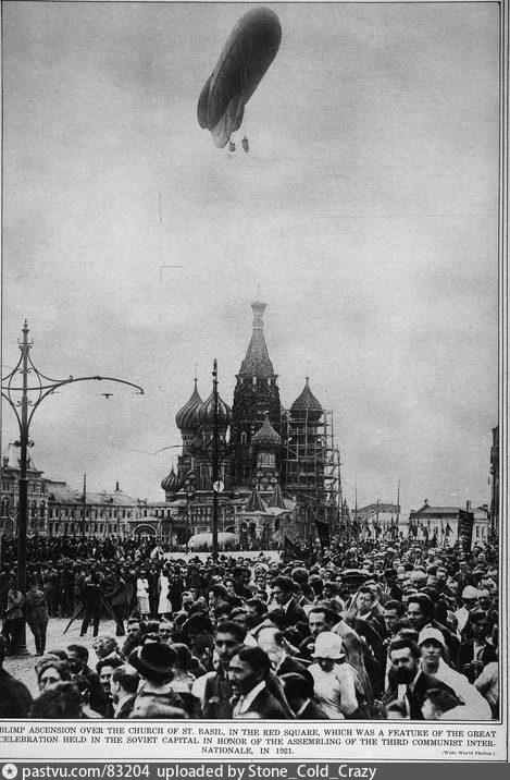 Старые карты Москвы - Красная площадь