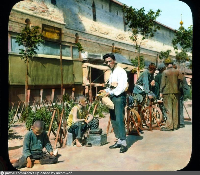 Торговля у Китайгородской стены 1930-1931гг.