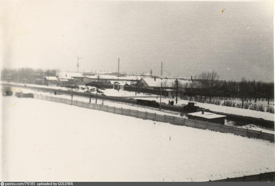 Щелковское шоссе на старых картах