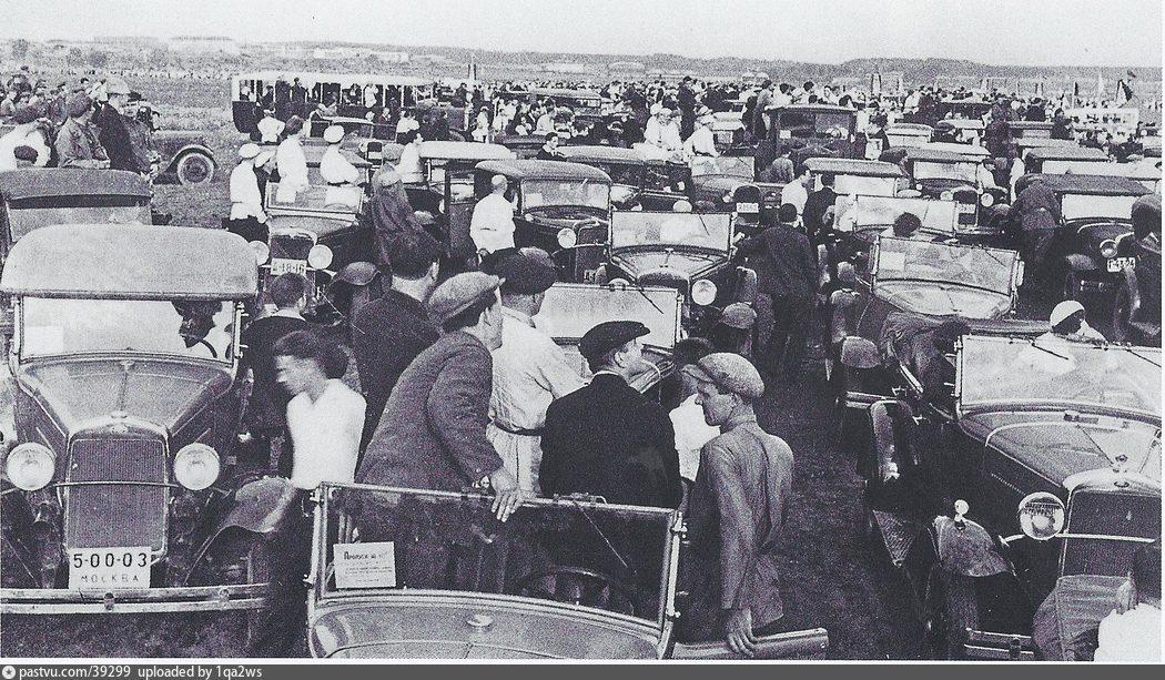 Авиапарад в Тушино, 1935