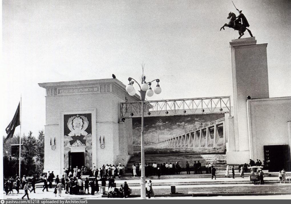 Павильон Поволжье. ВСХВ, 1939