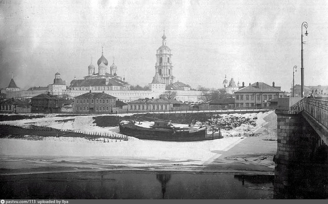 Новоспасский монастырь из