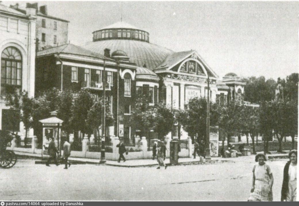 Старые карты Москвы - Цирк Никитиных - Московский мюзик-холл