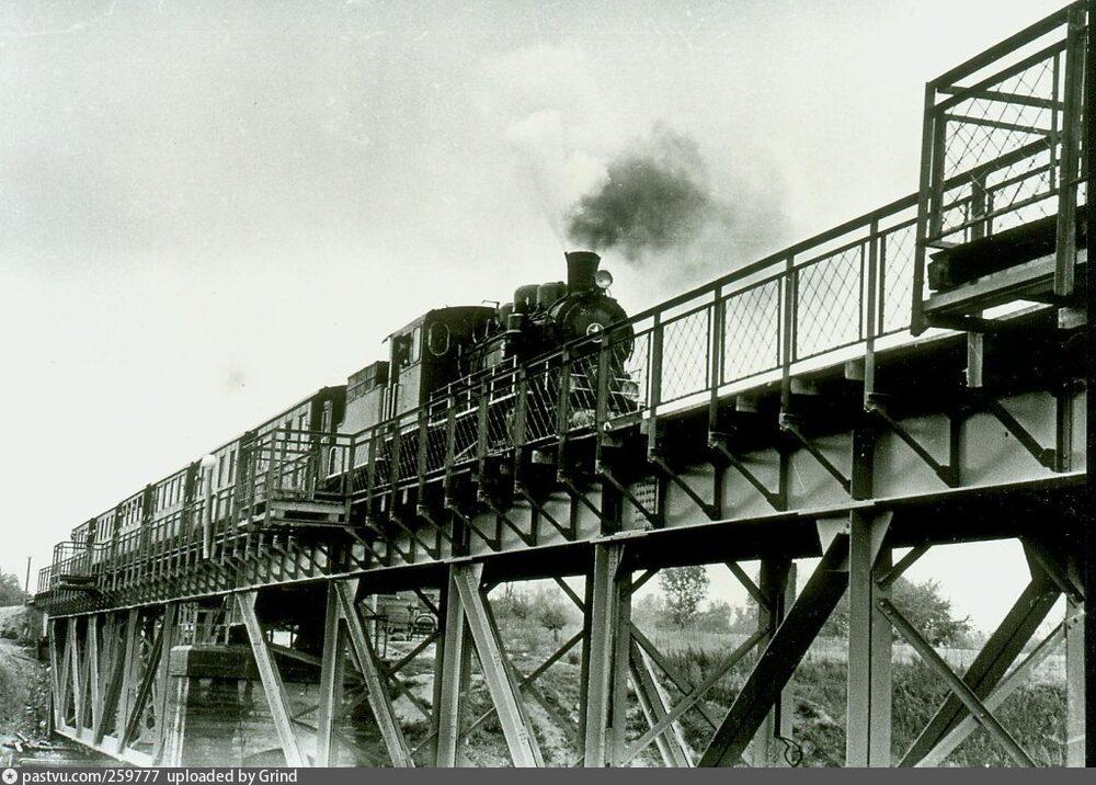 Віадук на дитячій залізниці