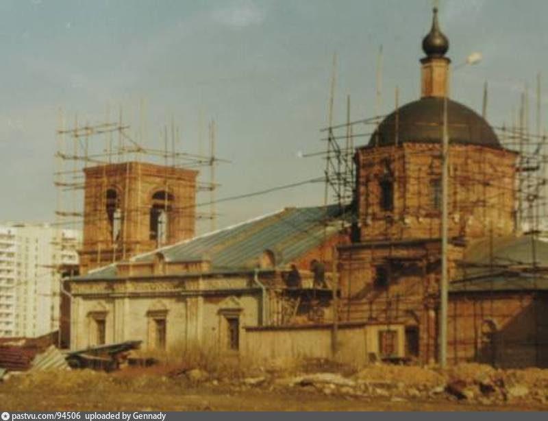 Храм Пресвятой Богородицы на Городне