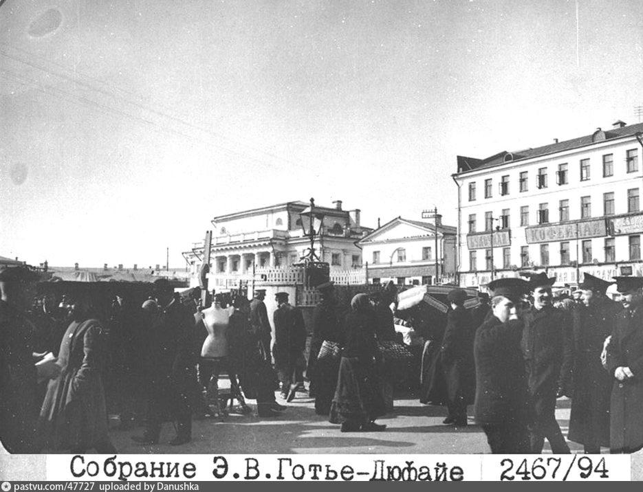 Схема сухаревской площади