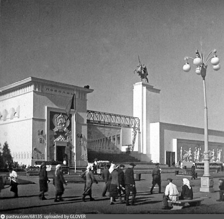 ВСХВ. Павильон Поволжье, 1939-1941